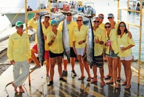 Guys Lead in Annual Guy/Gal Fishing Tournament