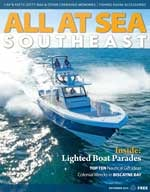 All At Sea - The Southeast's Waterfront Magazine - December 2014