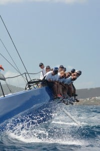 Excitement reigns supreme at the Crown Jewel of Caribbean Yacht Racing. Credit: Dean Barnes