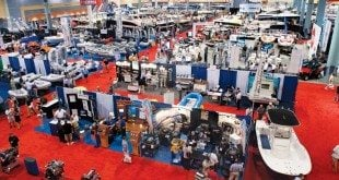 Plenty of new products at the Miami International Boat Show. Photo by Glenn Hayes