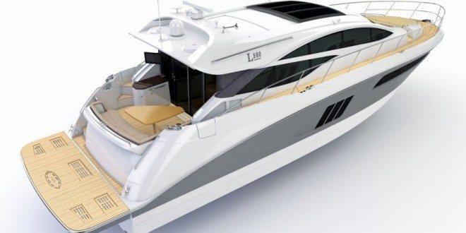 The new L590. Photo courtesy of Sea Ray