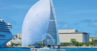 Jaime Torres' winning Melges 32 Smile and Wave