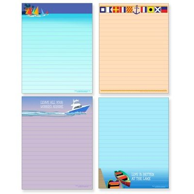 Boating Notepad Assortment Pack