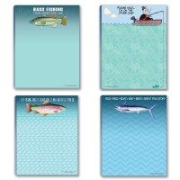Fishing Theme Notepad Assortment Pack