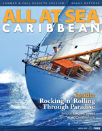 All At Sea - The Caribbean's Waterfront Magazine - April 2015