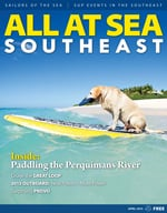 All At Sea - The Southeast's Waterfront Magazine - April 2015