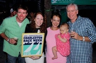 Charleston Race Week is also a family affair. Photo by Jeff Dennis