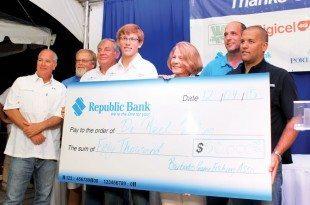 De Reel Viking won de really big check. Photo: Courtesy of Barbados Game Fishing Association