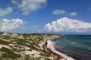 Beautiful beaches are the entry point to fantastic watersports in the Turks & Caicos. Credit: IGY