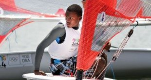 A sailing star in the making