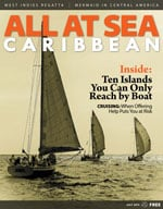 All At Sea - The Caribbean's Waterfront Magazine - July 2015