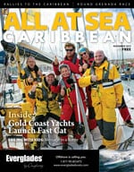 All At Sea - The Caribbean's Waterfront Magazine - November 2015