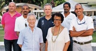 The new board of directors at the Marine & Yachting Association of Grenada
