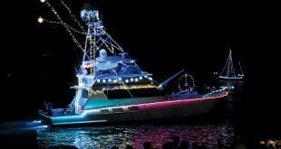 St. Croix Lighted Boat Parade. Photo: Ellen Sanpere