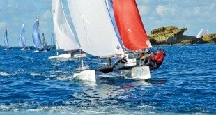 2015 St. Barth Cata Cup Teams from around the world competed in the 8th edition of the Saint BarthCataCup. Photo: Rosemond Gréaux