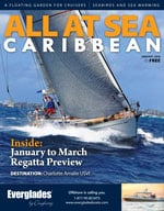All At Sea - The Caribbean's Waterfront Magazine - January 2016