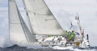 Mango Bowl Regatta: David Onyons' Happy Morning, winner in Cruising. Photo: Kenmore Henville