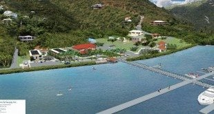 Marina Developments in Coral Bay, St. John: Artist's impression of the Yacht Club at Summer's End. Graphics courtesy of The Summer's End Group, LLC