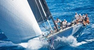 Proteus, Overall Winner of the 2016 RORC Caribbean 600. Photo: RORC / Emma Louise Wyn Jones
