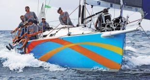 St Maarten Heineken Regatta: El Ocaso, overall winner of CSA 3 and the regatta's prestigious 'Most Worthy Performance' award. Photo: OceanMedia
