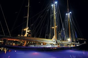 Touch of class: Columbia in all her glory. Photo: OceanMedia