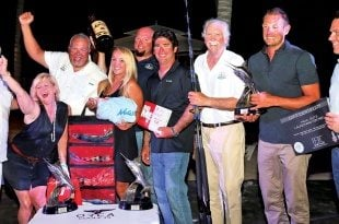 Blue Marlin Classic: Top Team, Auspicious. Photography courtesy of Richard Gibson