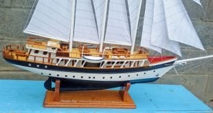 model boats bequia