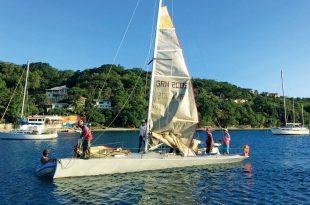 La Diablesse prepares to set sail. Photo: Pattie Hall