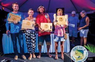 Antigua Francis Nunes Jr Memorial Tournament Team Crab Hole Liquors – Cook-off Competition winners