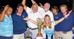 Dominican Billfish Triple-Header. The aptly named Auspicious celebrate their victory