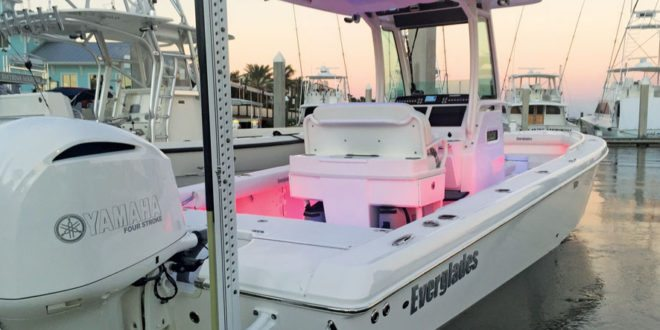 hybrid bay/offshore boat, 253 center console