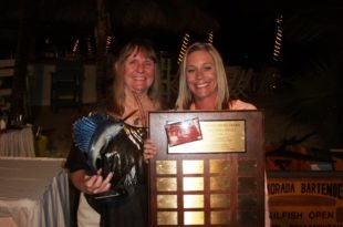 High Point angler Ramanda Bannenberg with Tournament Director Dianne Harbaugh