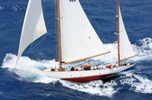 Antigua Classic Yacht Regatta - Mariella Returns