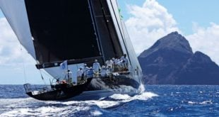 Bella Mente – Overall winner of the 2017 RORC Caribbean 600 Trophy. Photo by Tim Wright Photoaction.com