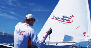 Competitor and organizer of the St. Martin Laser Championship Frits Bus