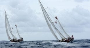 Royal Danish Navy Ships St Thomas International Regatta