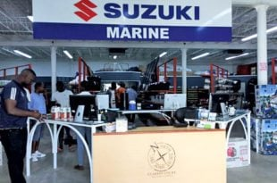 Suzuki at North Yacht Shop, Grenada