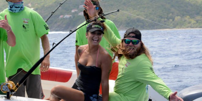 Anglers have fun on the water in the 2016 Bastille Day Kingfish Tournament. Credit: Dean Barnes