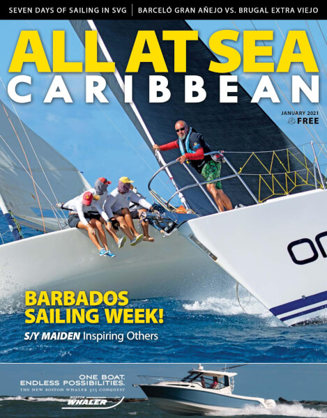 ALL AT SEA - Caribbean January 2021 Issue