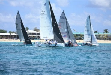 Simpson Bay to Friar's Bay Race