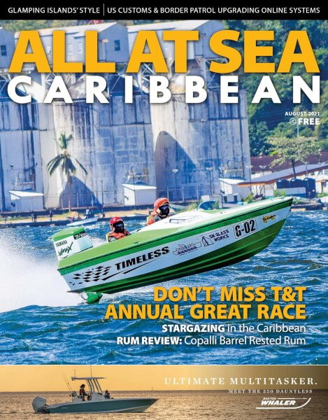 ALL AT SEA - Caribbean August 2021 issue
