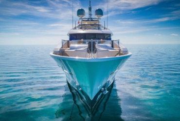 Bow of Motor Yacht Hospitality