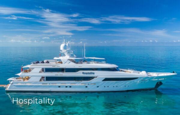 Profile of Motor Yacht Hospitality